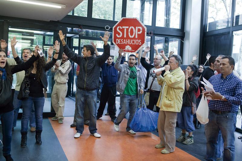 Foto artículo: Si protestas, te desahuciamos