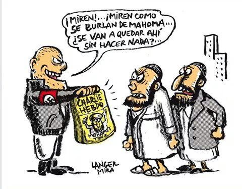 Foto artículo: Charlie Hebdo y el cobijo de los populismos