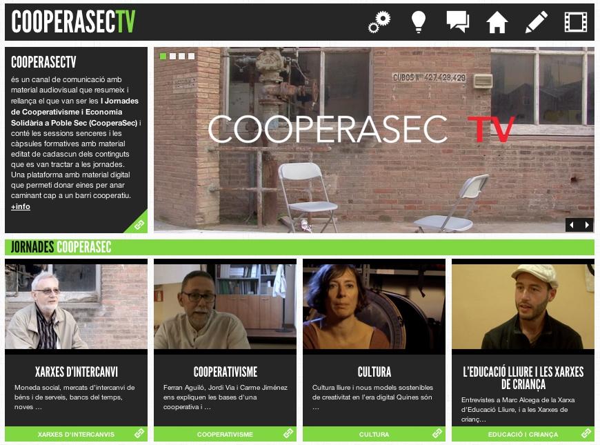 Foto artículo: CooperaSecTv, un nuevo canal audiovisual sobre cooperativismo