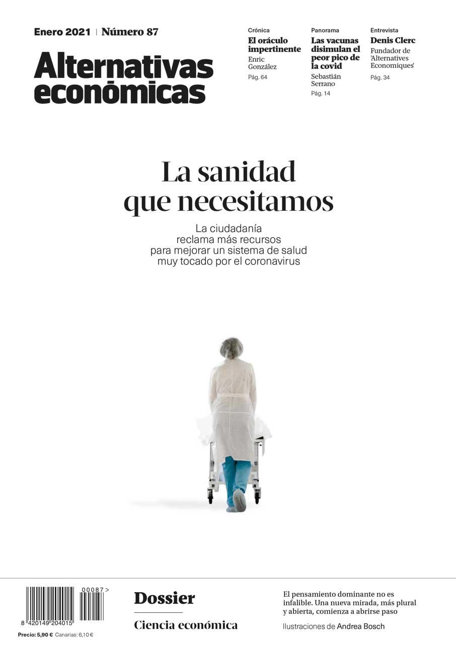 Revista Alternativas económicas. La ciudadanía reclama más recursos para mejorar un sistema de salud muy tocado por el coronavirus
